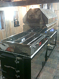 Pleasant Valley Tree Farm - Maple Syrup Evaporator